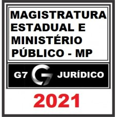 Magistratura Estadual e MP + Leg Penal +..
